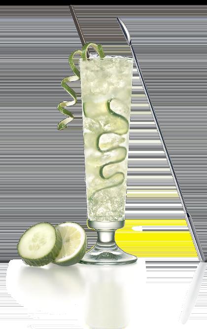 cocktail rhum concombre