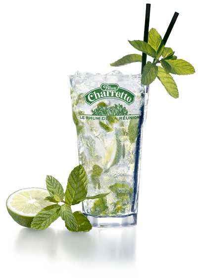 cocktail mojito rhum charrette